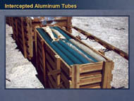 slide 32 intercepted aluminum tubes