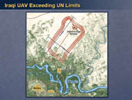 slide 37 Iraqi UAV Exceeding UN Limits